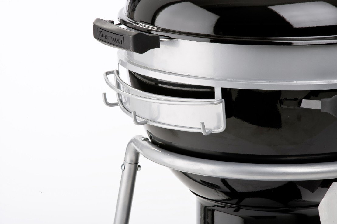 landmann black pearl kugelgrill ein schwarzes juwel mit. Black Bedroom Furniture Sets. Home Design Ideas