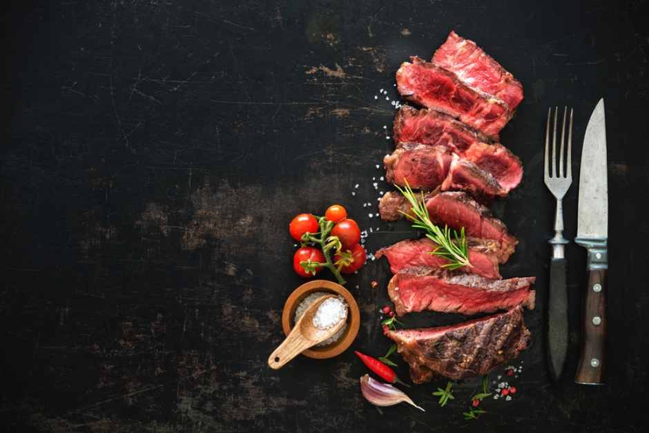 Steak medium gegrillt © Alexander Raths - fotolia.com